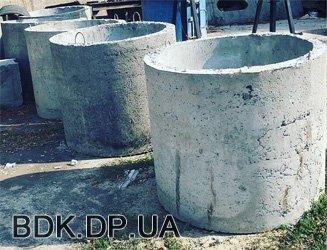 Бетонная продукция - кольца ЖБИ - bdk.dp.ua